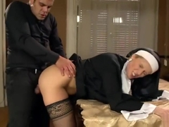 Sweet Cat, a nun confessing to a priest her sexual fantasies