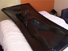 Lycra sex movie with me filming my sexy woman in latex