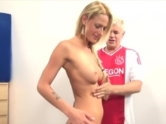 Incredible pornstars Chelsey Lanette and Brooke Logan in amazing interracial, blonde xxx scene