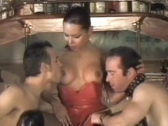 Hottest homemade shemale scene with Big Tits, Gangbang scenes