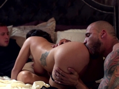 Horny pornstars Keisha Grey, Jessy Jones in Amazing Threesomes, Big Tits sex clip