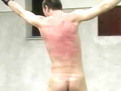 Crazy amateur gay movie with BDSM, Spanking scenes