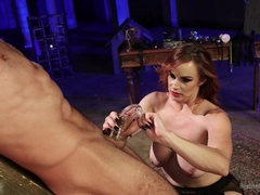 Bella Rossi & Jason Miller in Chastity Cock Suck - DivineBitches