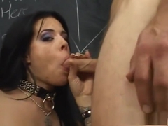Hottest pornstar Demi Marx in horny threesomes, brunette porn video
