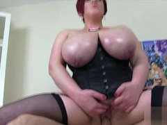 Amazing pornstar Kitten Canoodle in Horny Redhead, BBW sex movie