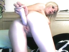 Bit Tit Blonde Angel Showing Off