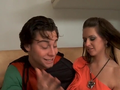 Brunette Rachel Roxxx seduces young Seth Gamble