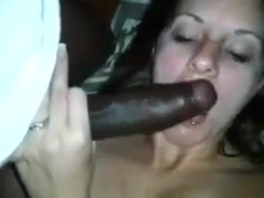 Slut Wife Takes a BBC while Showing her Wedding Ring - GJ