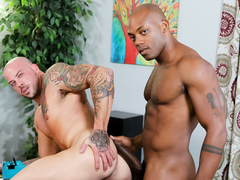 Sean Duran & Osiris Blade in Administrative Power Bottom Video