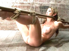 Hot Milf Suffers The Most Painful Bondagecategory 5 Suspension Made To Squirt All Over The Place -.