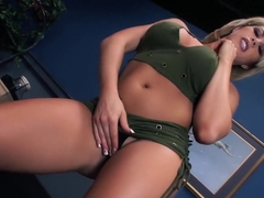 Hottest pornstar Brooke Haven in incredible big tits, facial porn clip