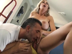 Brandi Love Fit Blonde Milf