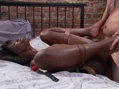 Tommy Pistol & Ana Foxxx in Yes Master - Ebony Boss Slut Gets the Tables Turned  - SexAndSubmission
