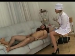 Best prostate exame strapon action nurse I have seen before