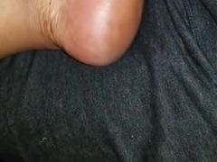 Haitian neighbor foot massage dicknrub