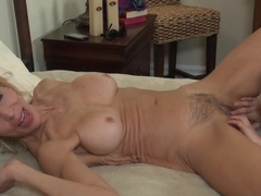 Crazy pornstars Georgia Jones, Erica Lauren in Fabulous Hairy, Big Tits porn video