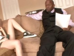 Sindee Shay in Interracial Hardcore Scene