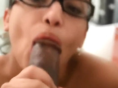 Abella Anderson Blowjob (no make-up)