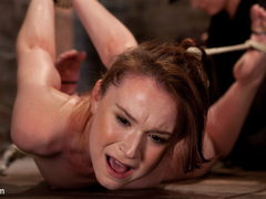 AnnaBelle Lee in Annabelle Lee - Red Headed Slut - Live Show Part 2 - HogTied