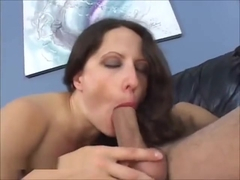 Lena Ramone Horny Long Haired COUGAR Adores Hard Cock Anal Licking
