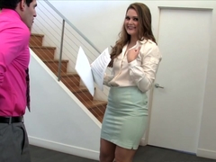 Naughty Real Estate Agent Abby Cross Fucks Her Client