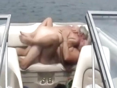 Real amateur swingers fucking on a boat