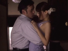 Mao Hamasaki in Mao Gives a Blowjob to her Husband's Friend - EritoAvStars