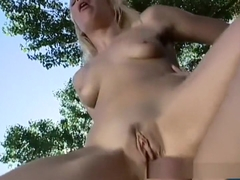 Hottest pornstar Olivia Saint in exotic outdoor, anal adult clip