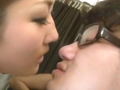 Exotic Japanese model Yui Himura, Aki Nagase in Incredible Public, Blowjob JAV clip
