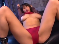 Incredible Japanese chick Hana Haruna in Hottest Toys, POV JAV movie