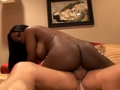 Jada Fire, Brittany Andrews and Tom Byron in an interracial FFM threesome