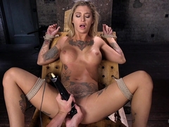 Kleio Valentien in Alt Tattooed Pain Slut Submits In Grueling Bondage - HogTied
