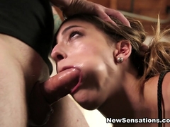 Kristen Scott  Tommy Pistol in Kristen Is Bound And Ready To Satisfy - NewSensations