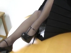 Nylon stockings fetish
