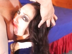 Snow white gets face fucked hard!