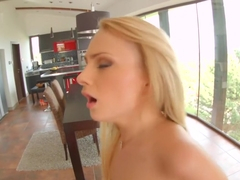 Euro girl Ivana Sugar gets her ass fucked