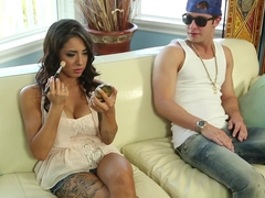 Exotic pornstars Alexa Aimes, Seth Gamble in Crazy Latina, Big Ass adult video