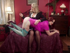 Hottest anal, milf xxx clip with incredible pornstars Bella Rossi and Simone Sonay from Whippedass
