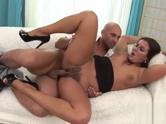 Delicious Brunette Gets Banged Really Hard