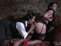 PinkoHD XXX video: Lesbian Seduction