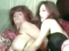 Busty Lesbians Fighting and Masturbating