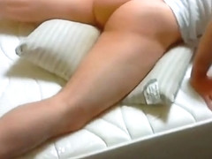 Old cum stained pillow humping orgasm