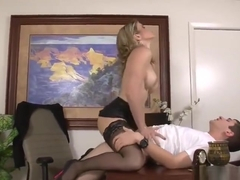 Stockings sex video featuring Cory Chase and J Pipes