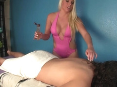 Cherry Morgan Ruined Orgasm - MeanMassage