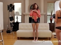 Nubiles-Casting Video: Skylar Green & Ashlyn Molloy