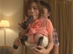 Fabulous Japanese slut Akari Asahina in Incredible Blowjob, Amateur JAV clip