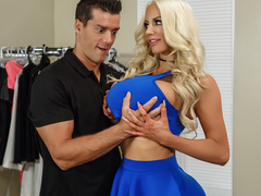 Nicolette Shea & Ramon in Off The Rack - BrazzersNetwork
