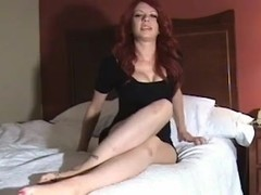 Redhead provides sissy instruction and cei