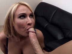 Johnny Sins and his strict boss Mellanie Monroe
