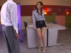 Hot For Teacher Yuna Shiina Fucking In Stockings